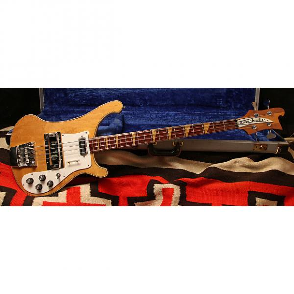 "Custom 1968 Rickenbacker 4001 ""Mapleglo"" #1 image"