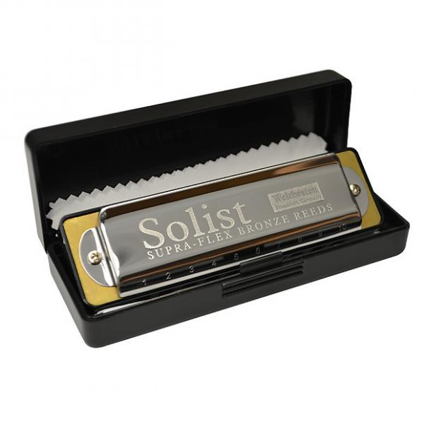 Custom Excalibur Weltbesten Solist Supra-Flex Bronze Reed Harmonica - Key of Db #1 image