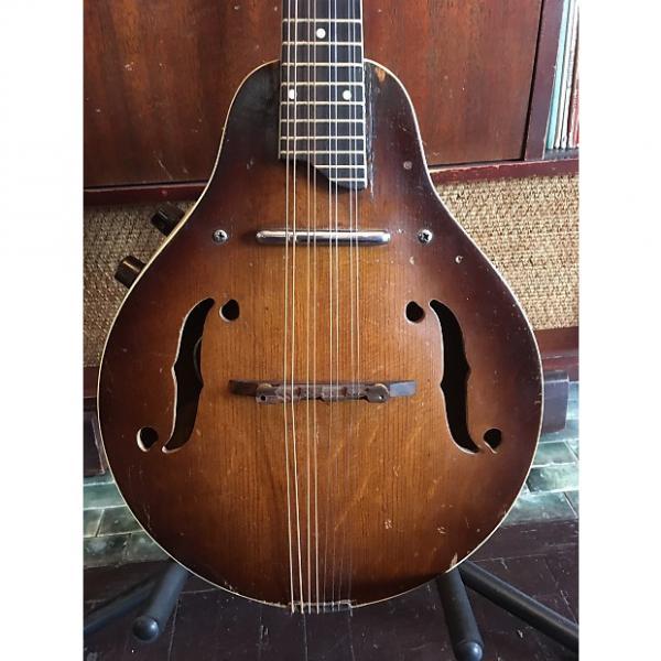 Custom Vintage Kay-made Silvertone Mandolin with Pickup #1 image