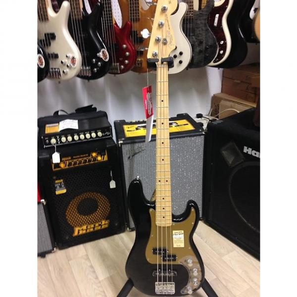 Custom Fender Deluxe Active Precision Bass Special Black #1 image