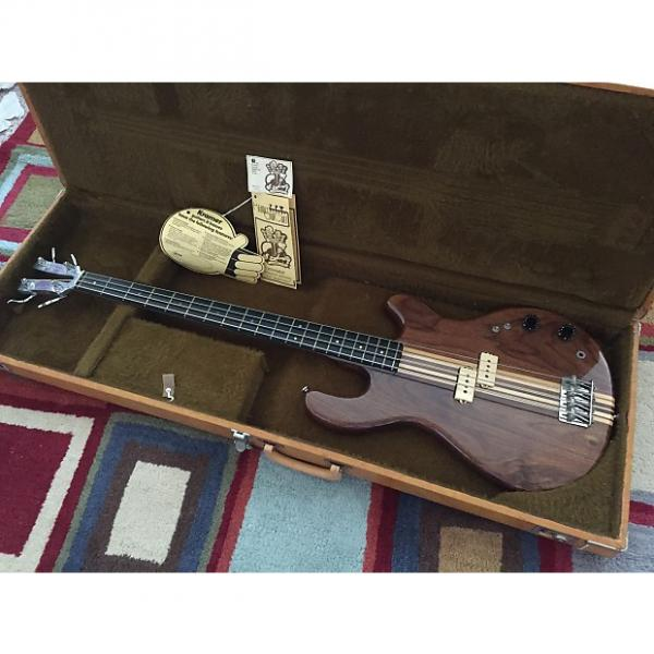 Custom Kramer DMZ 4001 Vintage Bass Guitar w/ OHSC and case candy! Made in USA! #1 image