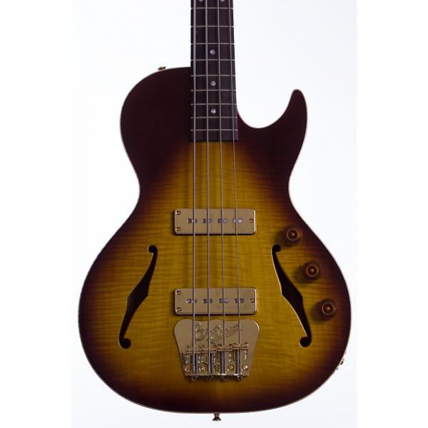 Custom B&G Handmade Guitars Big Sister Bass 2017 Tobacco Burst #1 image