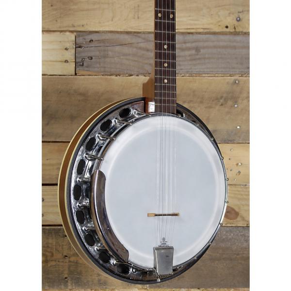 Custom Strom 1970's 5 String Banjo Resonator Back w/ Case #1 image