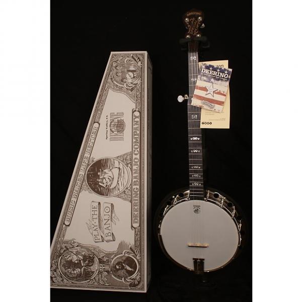 Custom Brand NEW Deering Artisan Goodtime Special 2017 5 string flathead banjo Made in USA #1 image