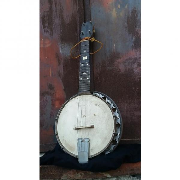 Custom Banjo Banjolele Banjolin Tenor Banjo Ukelele N/a 1910-1940 Curly maple Natural #1 image