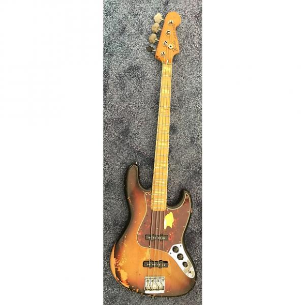 Custom Fender Jazz Bass 1973 3 Color Sunburst #1 image