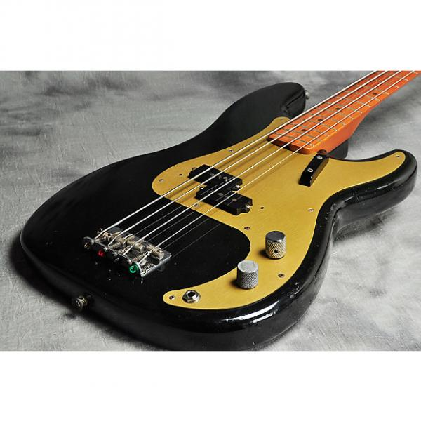 Custom Fender USA American Vintage '57 P Bass Black #1 image