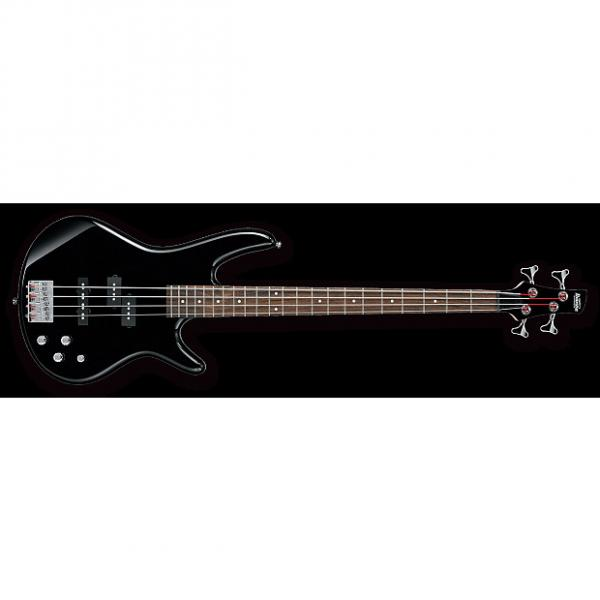 Custom Ibanez SR200 Electric Bass - Black #1 image