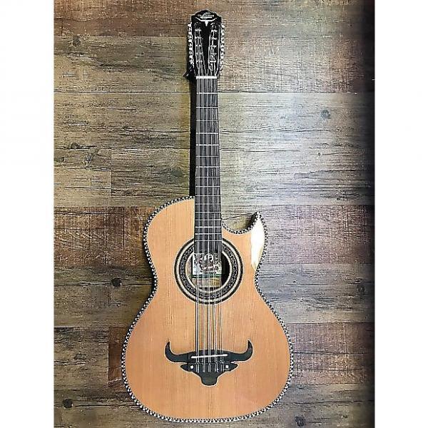 Custom Oscar Schmidt Bajo Quinto AE Solid Cedar Thin Body OH22SE #1 image