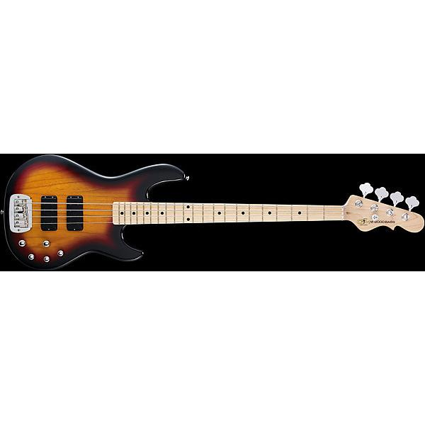 Custom G&L Tribute Series M-2000 Electric Bass - 3-Tone Sunburst #1 image