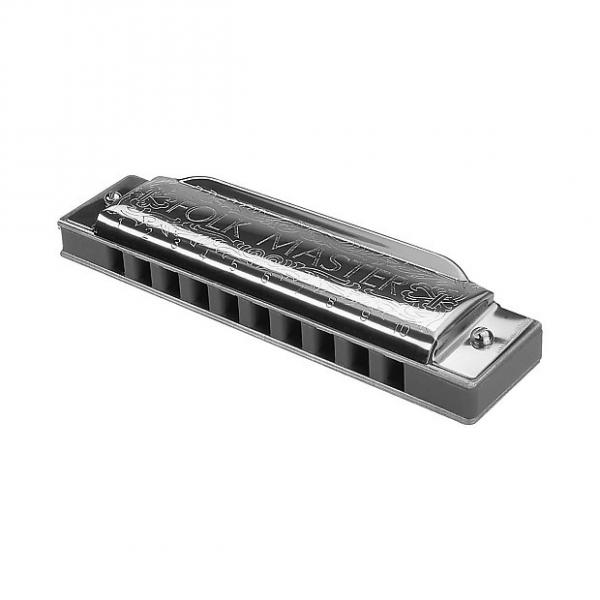 Custom Suzuki 1072-C Folkmaster 10-Hole Diatonic Harmonica - Key of C #1 image