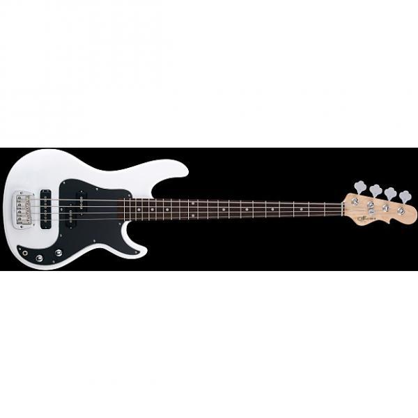 Custom G&L Tribute Series SB-2 Electric Bass - Gloss White #1 image