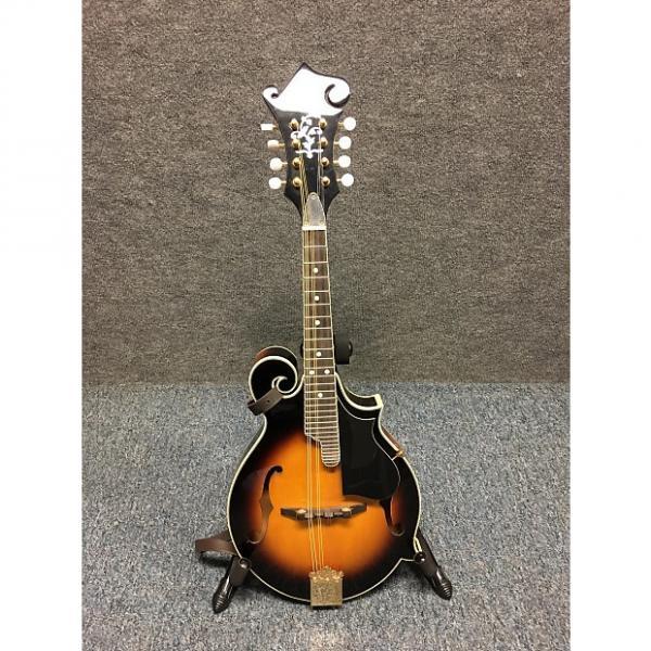 Custom Austin AU650 Sunburst F Style Mandolin w/case and strap #1 image