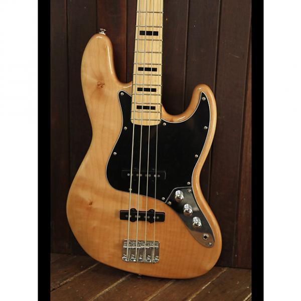 Custom Squier Vintage Modified 70‰Ûªs Jazz Bass Natural #1 image