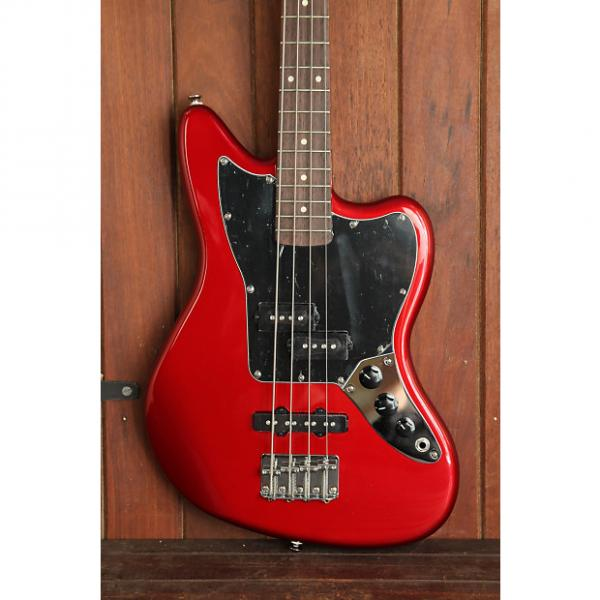 Custom Squier Vintage Modified Jaguar Bass Special Short Scale Red #1 image