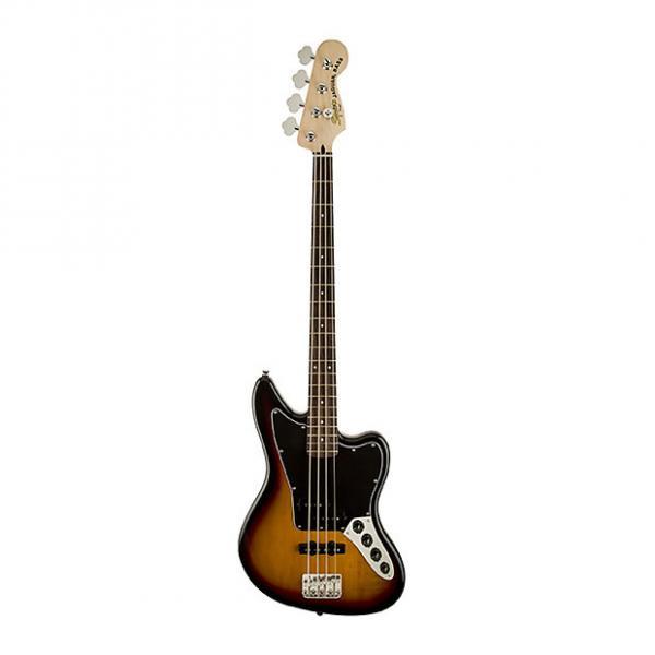 Custom Vintage Fender Squier Modified Sunburst Jaguar Bass - Squier Modified Jaguar Special Bass in Sunburst #1 image