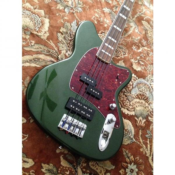 Custom Ibanez Talman Bass FRETLESS Green #1 image
