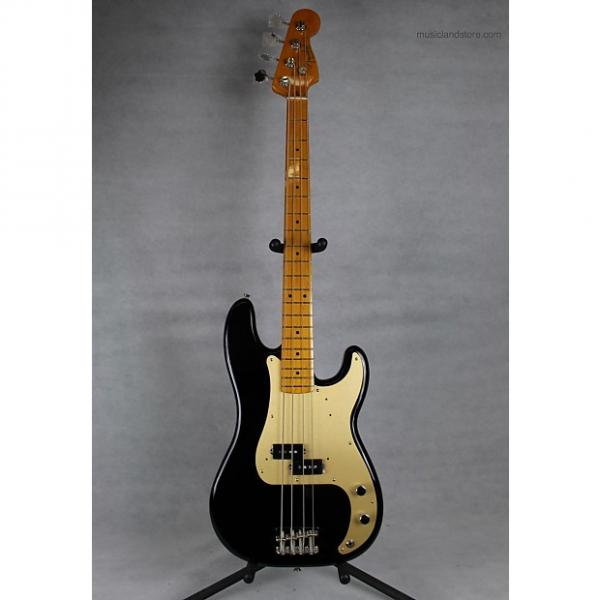 Custom Fender Classic Series '50s Precision Bass 2013 Black & Gold #1 image