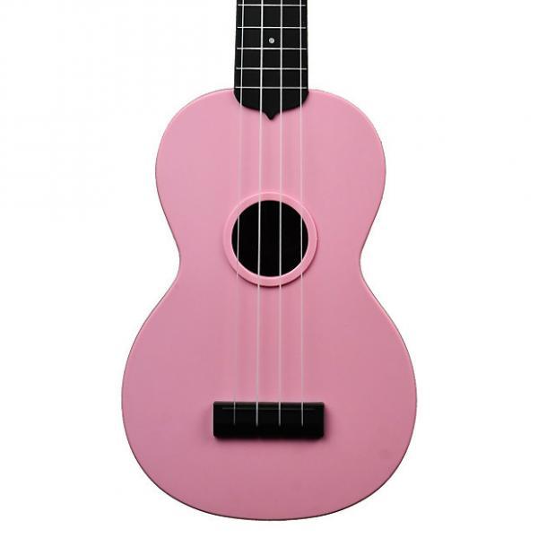 Custom Kala Waterman Soft Pink Soprano Ukulele #1 image