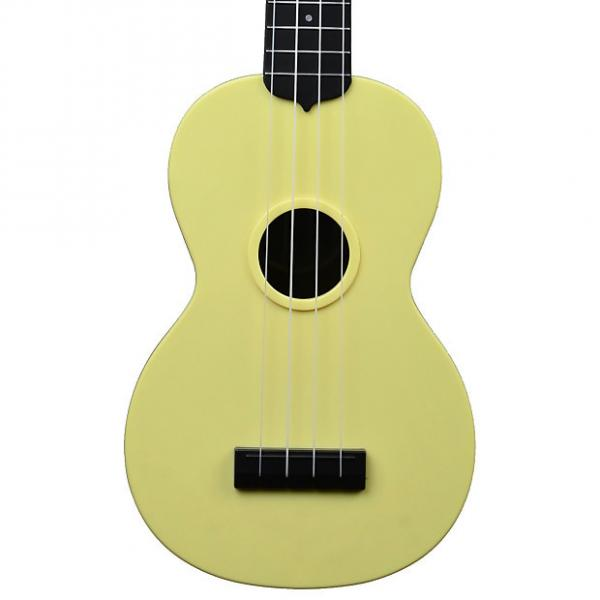 Custom Kala Waterman Pale Yellow Soprano Ukulele #1 image