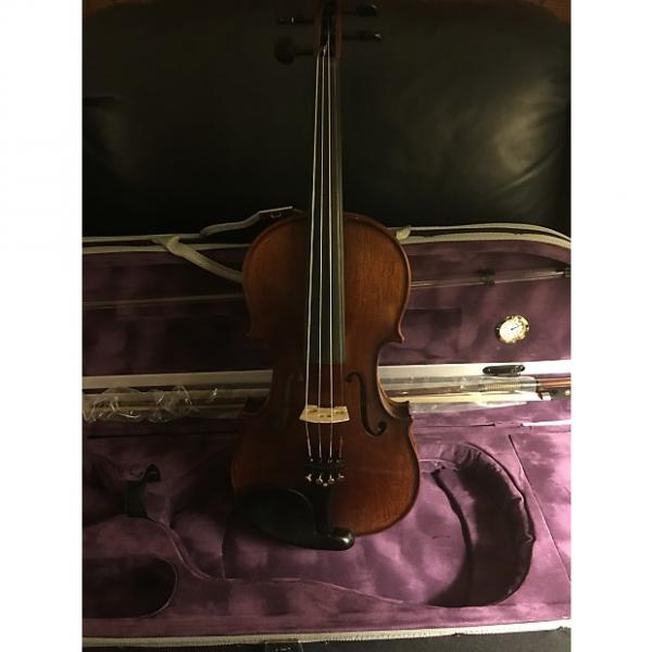 Custom Asian Hand carved Violin 2015 varnish #1 image