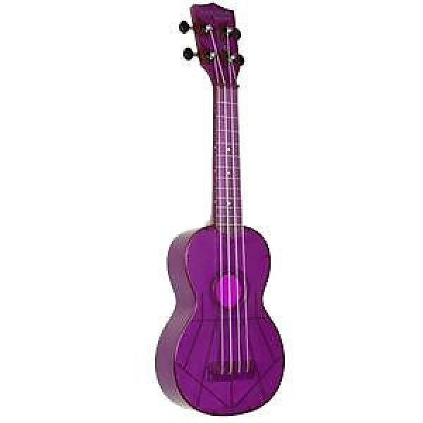 Custom Kala Waterman KA-SWF-PL Fluorescent Purple Soprano Ukulele #1 image