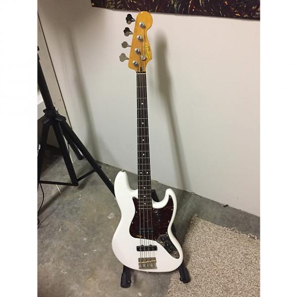 Custom Fender Squier Classic Vibe 60's Jazz Bass 2010s Olympic White #1 image