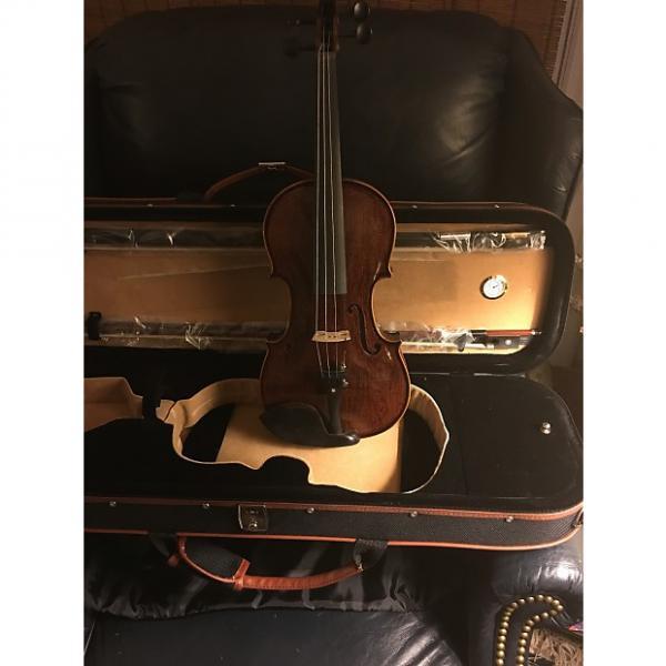 Custom Asian  hand carver violin 2015 Varnish #1 image