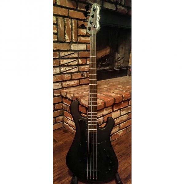 "Custom NEW!!! - Dean Hillsboro,  ""Eric, signature"" Bass - Black Matte - *Free* OHSC #1 image"