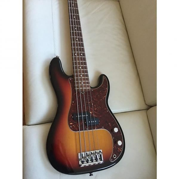 Custom Fender American Standard Precision five string 2008 3 Color Sunburst #1 image