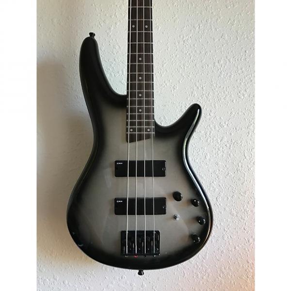 Custom Ibanez Soundgear Black / Silver Burst #1 image