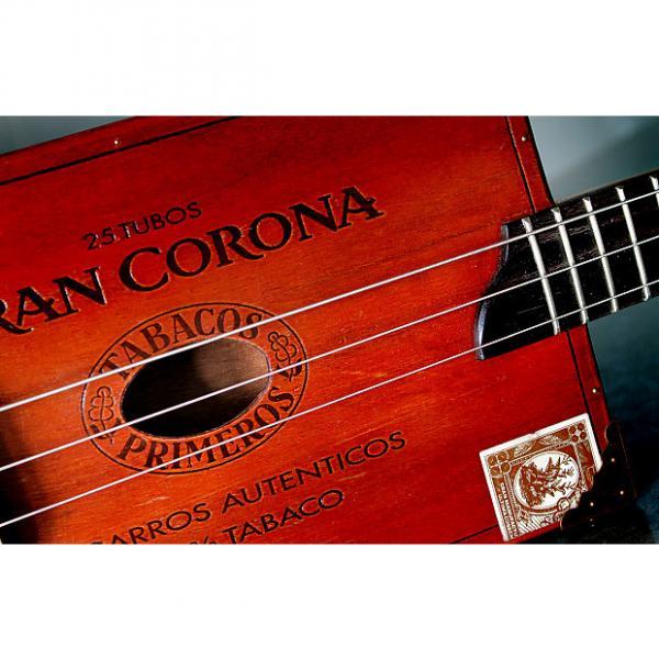 Custom 3 string acoustic cigar box guitar #1 image