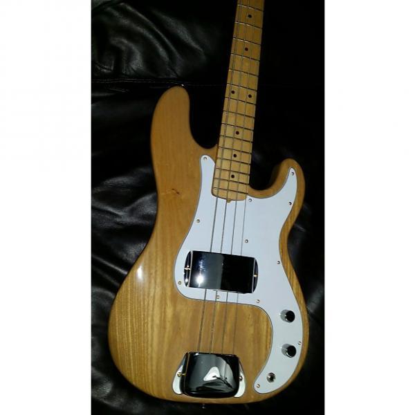 Custom DiMarzio Precision Bass 1976 Natural Ash #1 image