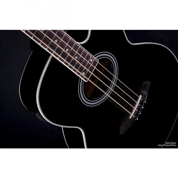 Custom Aria FEB-30M Black Acoustic Bass #1 image