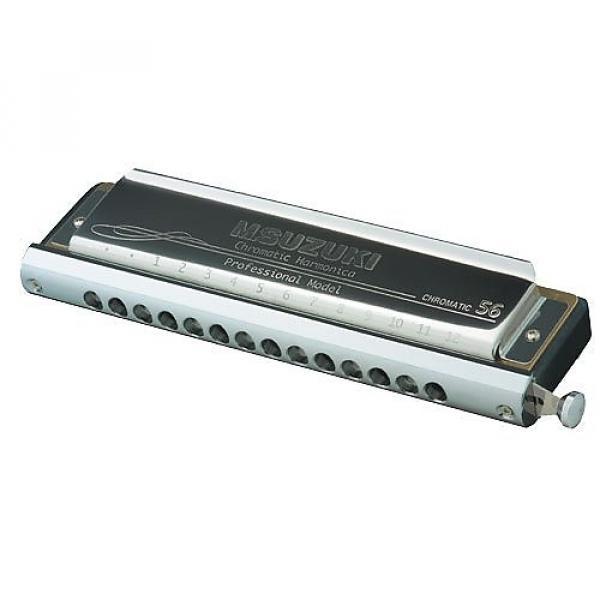 Custom Suzuki Slider SC56 Chromatic Harmonica in C #1 image