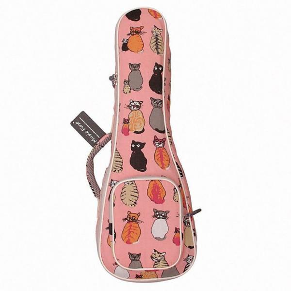 """Custom MUSIC FIRST cotton 21"""" Soprano """"MISS CAT"""" ukulele case ukulele bag ukulele #1 image"""