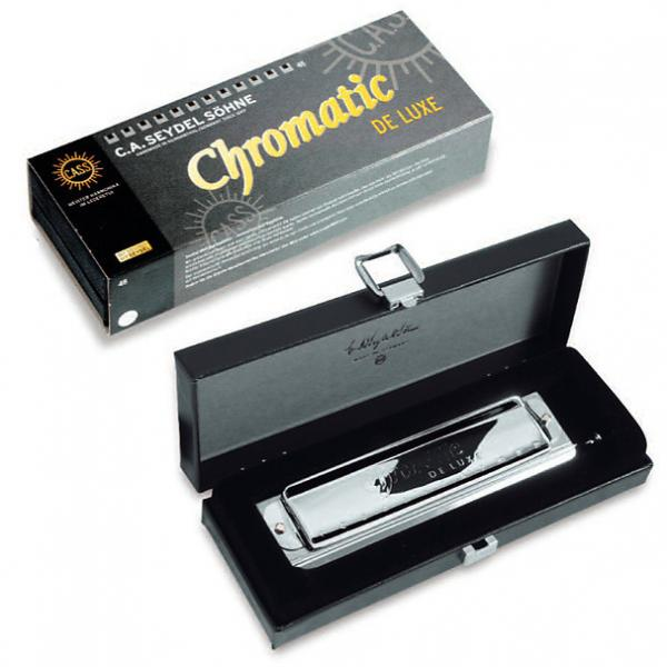 Custom Seydel Chromatic Deluxe Harmonica in the key of Solo-Tuned F #1 image
