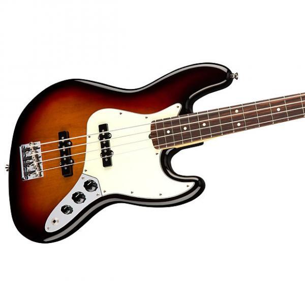 Custom Fender American Professional Jazz Bass Rosewood 3-Tone Sunburst w/Case #1 image