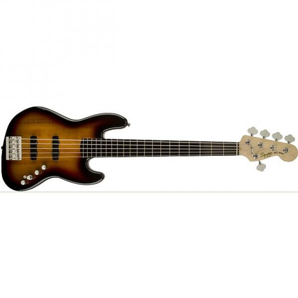 Custom Squire Deluxe Jazz Bass 5 String #1 image