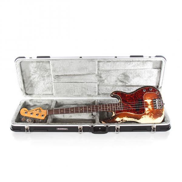 Custom 1969 Fender Precision P Bass -RARE ORIGINAL SUNBURST OVER WHITE- #1 image