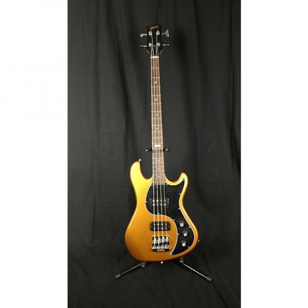 Custom 2014 Gibson EB 4 string Bullion Gold Bass #1 image
