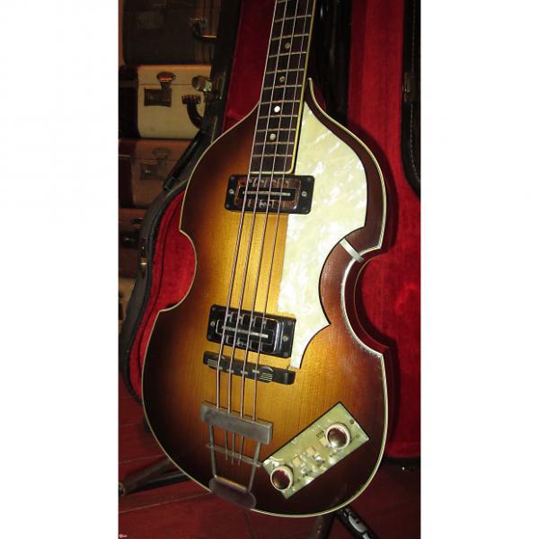 Custom Circa 1967 Hofner 500/1 Beatle Bass #1 image