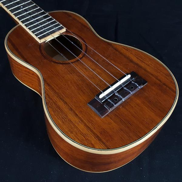 Custom Kala KA-KSLNG Gloss Koa Series Soprano Long Neck Ukulele #1 image