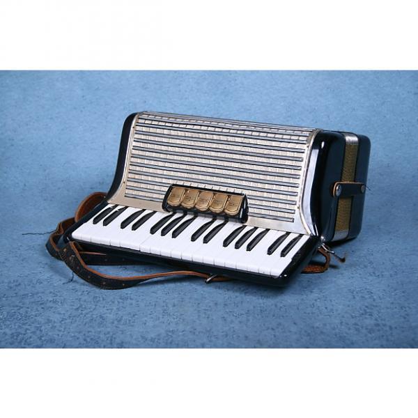 Custom Hohner Concerto II 72 Key Bass Piano Accordion w/Case & Straps - Preowned #1 image