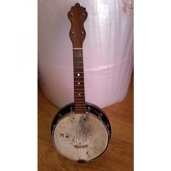 Custom Lange Banner Blue banjo uke pre 1930s #1 image