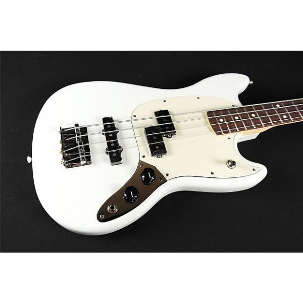 Custom Fender Mustang Bass PJ - Rosewood Fingerboard - Sonic Blue (683) #1 image