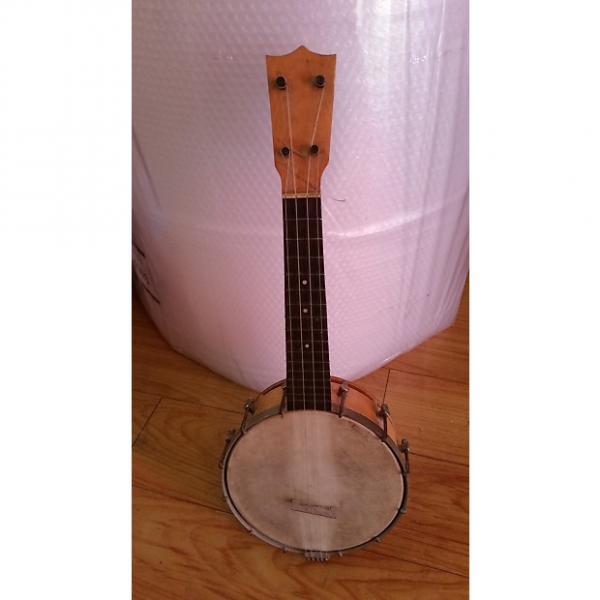 Custom Banjo uke Pre 1940s banjo uke #1 image