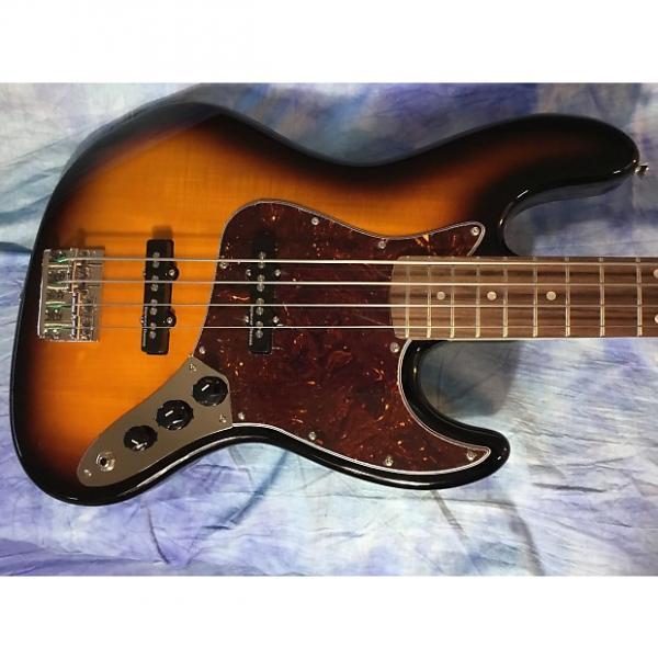 Custom Fender Vintage Modified Jazz Bass 3 Sunburst #1 image