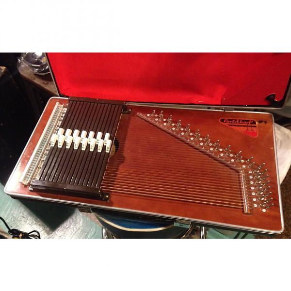 Custom STUDIO AUTOHARP / Porta-Harp 15 button by Rhythm Band unit good strings intact #1 image