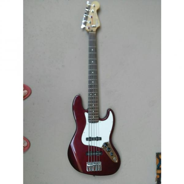 Custom FENDER 5-String Jazz Bass V - 2001. Midnight Wine. #1 image